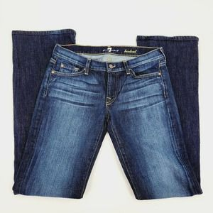 7 For All Mankind Women's Bootcut Denim Jeans 29